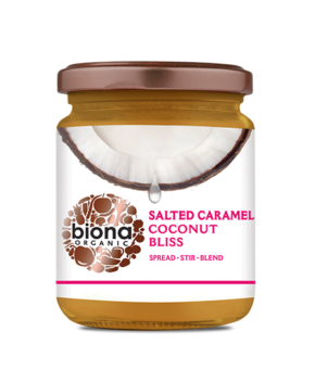 Biona Salted Caramel Coconut Bliss 250g