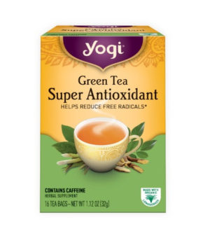 Yogi Tea eGreen Tea - Super Antioxidant 32g