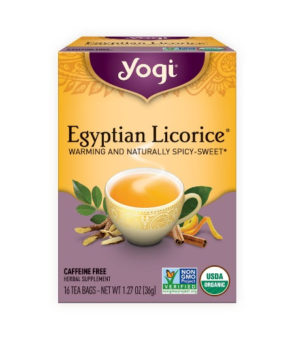 Yogi Tea Herbal Tea - Egyptian Licorice 36g